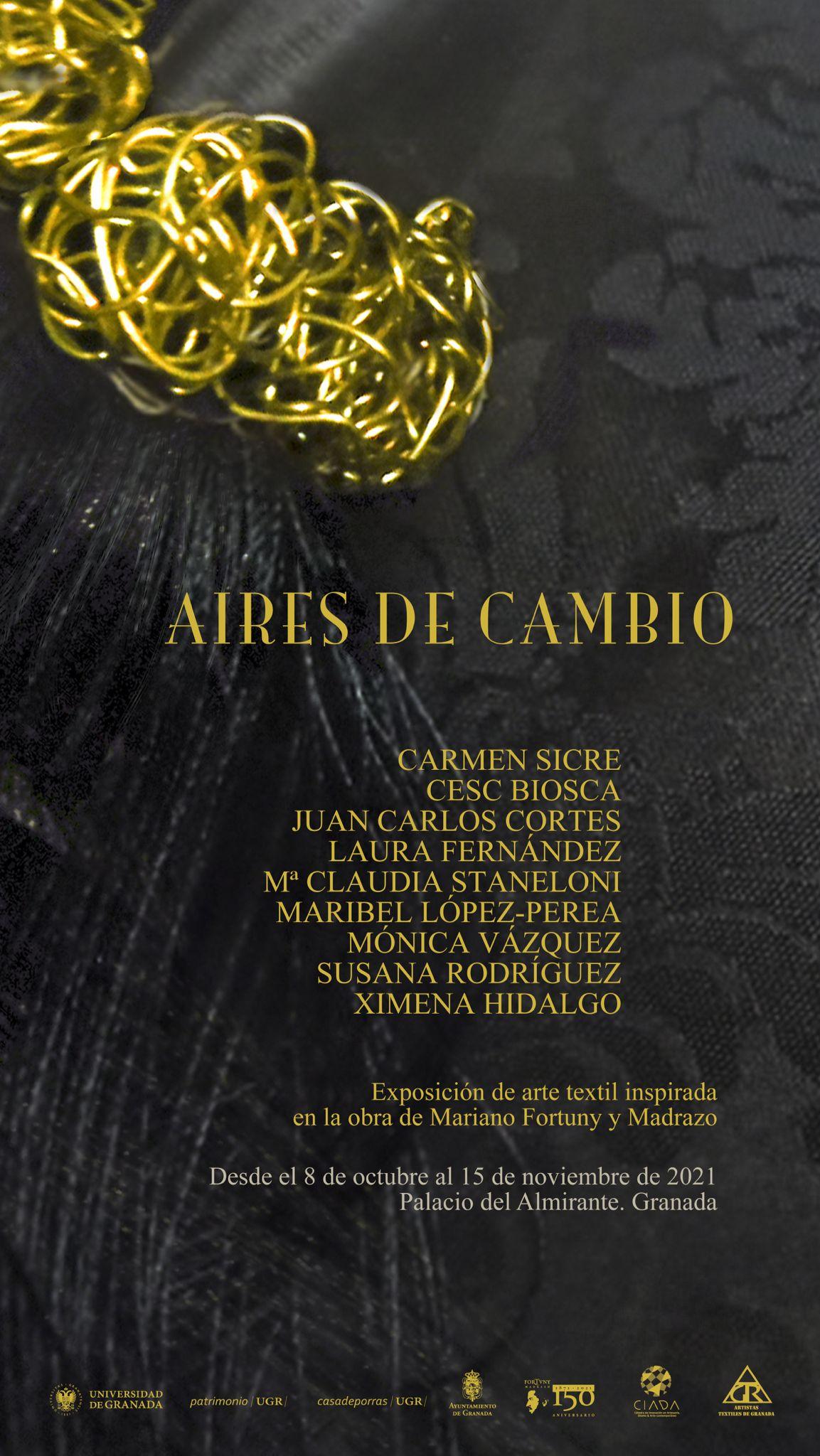 El Palacio del Almirante acoge 'Aires de cambio', una nueva exposición de arte textil inspirada en la obra de Mariano Fortuny