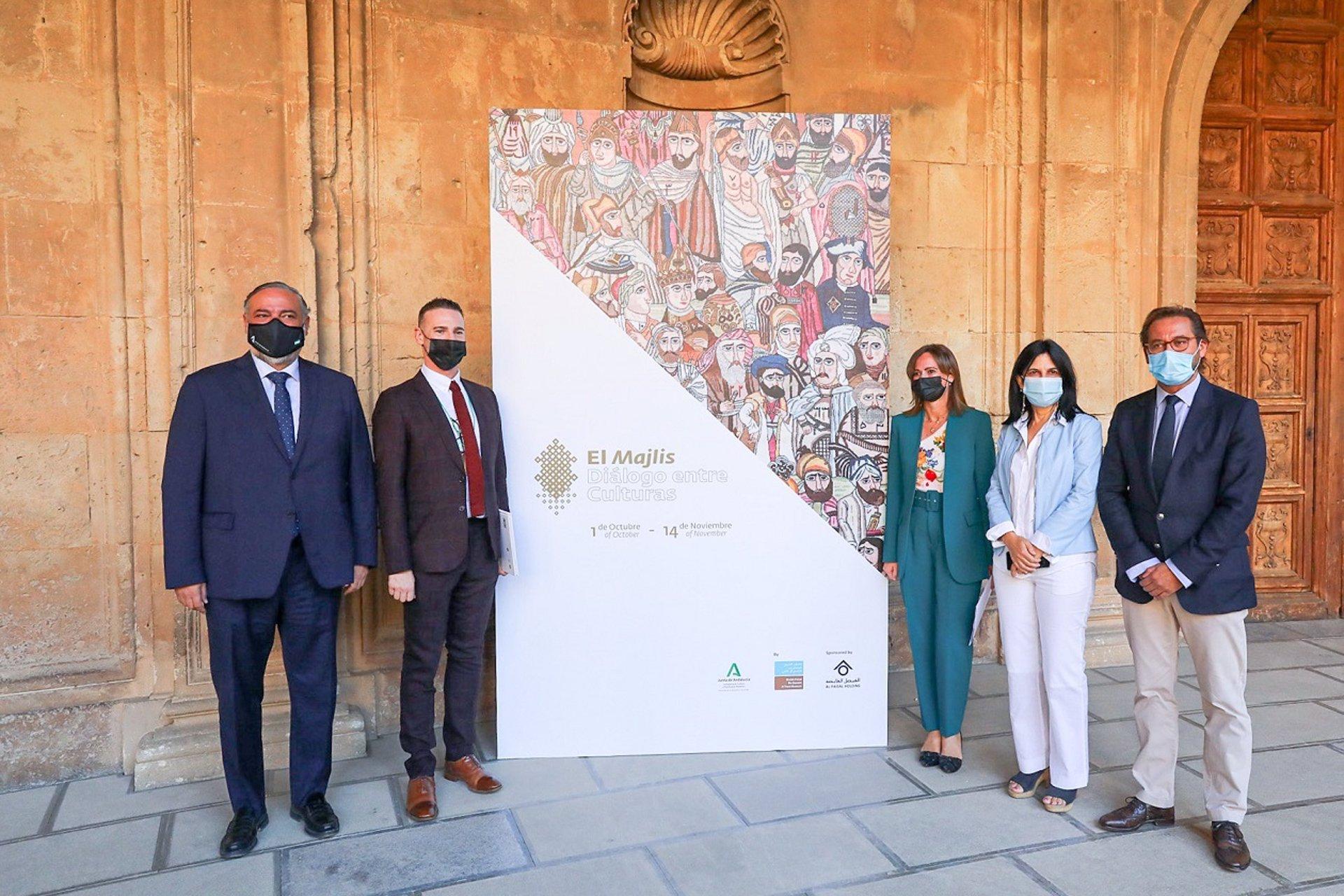 La Alhambra inaugura exposición en su primer día con el cien por cien del aforo abierto