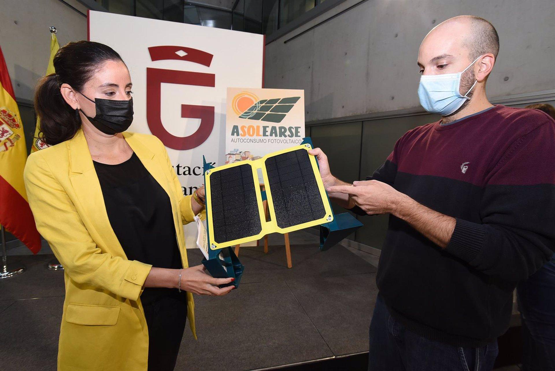 La Diputación lanza una campaña para informar sobre las ventajas de instalar placas solares en los domicilios