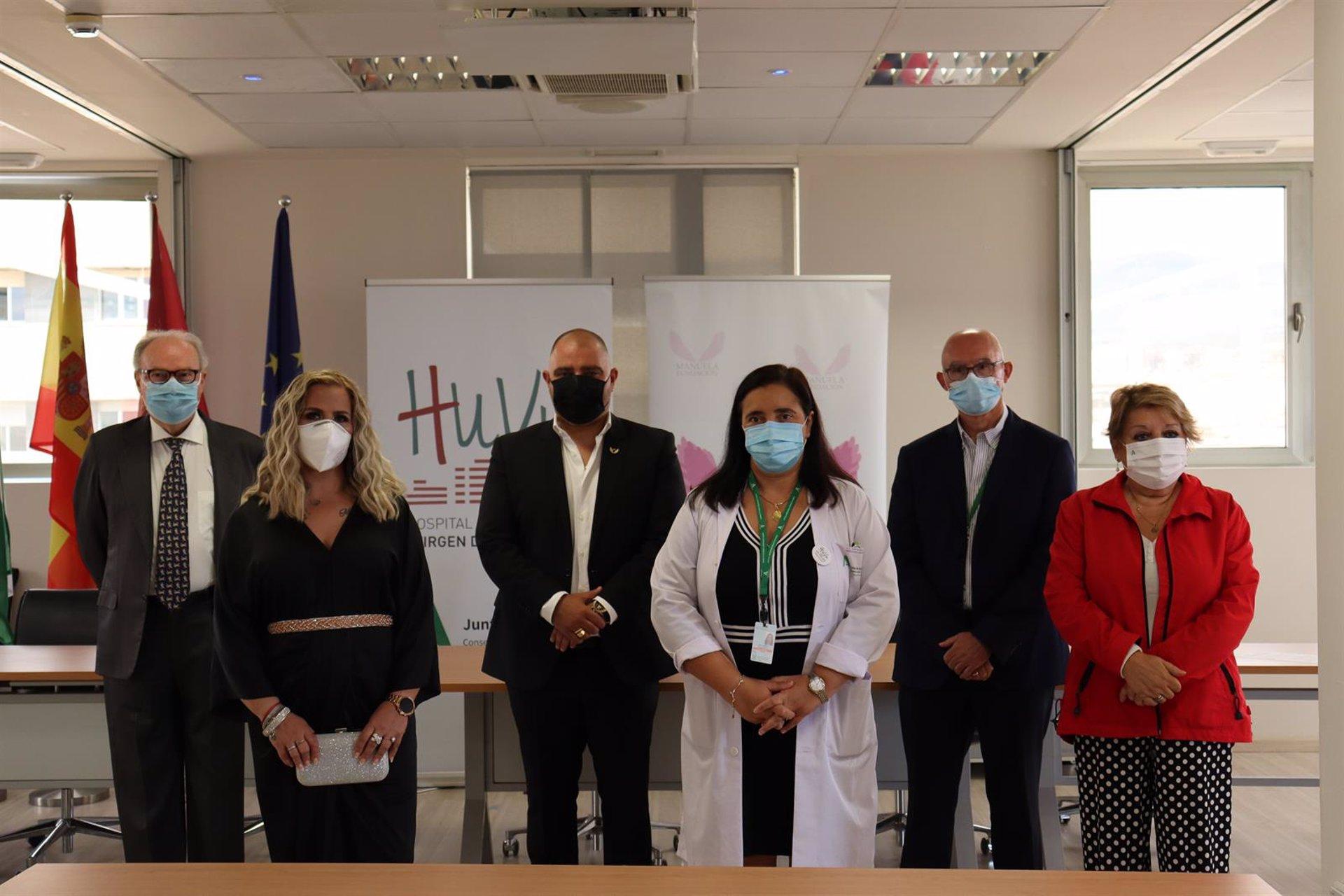 El Hospital Virgen de las Nieves contará con una nueva ludoteca y un gimnasio para pequeños hospitalizados