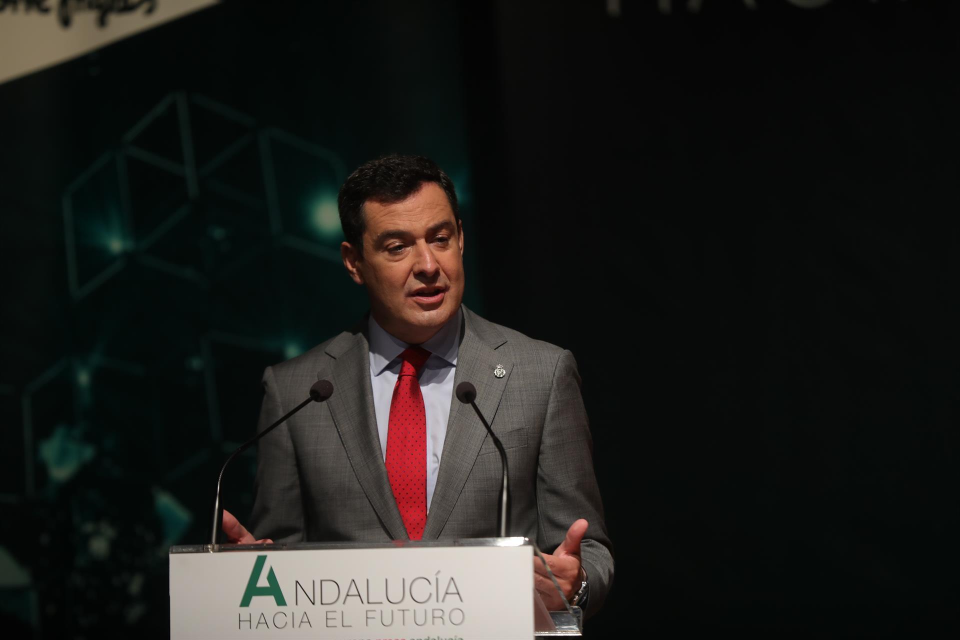 Moreno: Andalucía tendrá en 2022 el mejor régimen de sucesiones en favor de hermanos, tíos y sobrinos