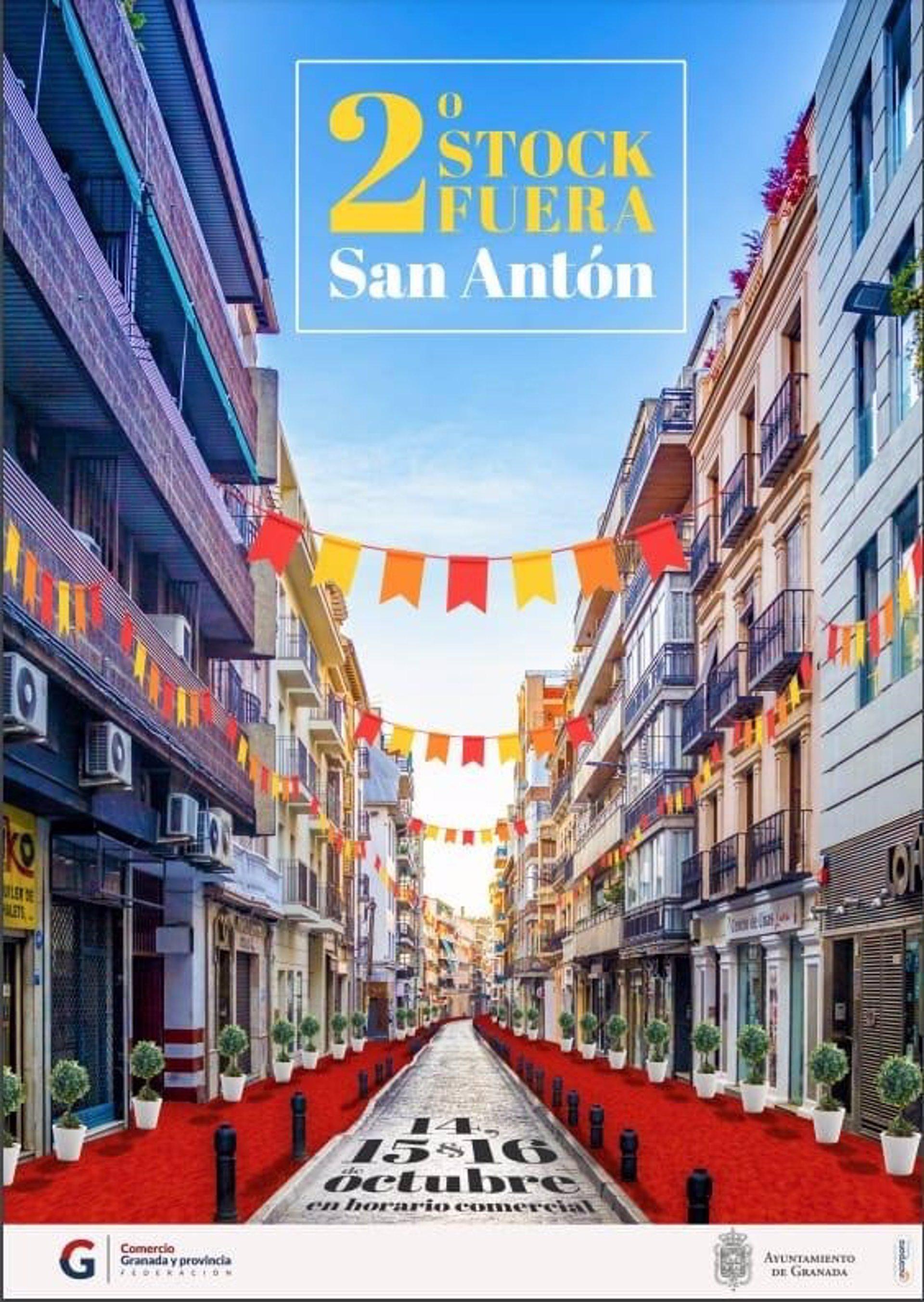 El entorno de San Antón será un espacio abierto al comercio con el II Stock Fuera