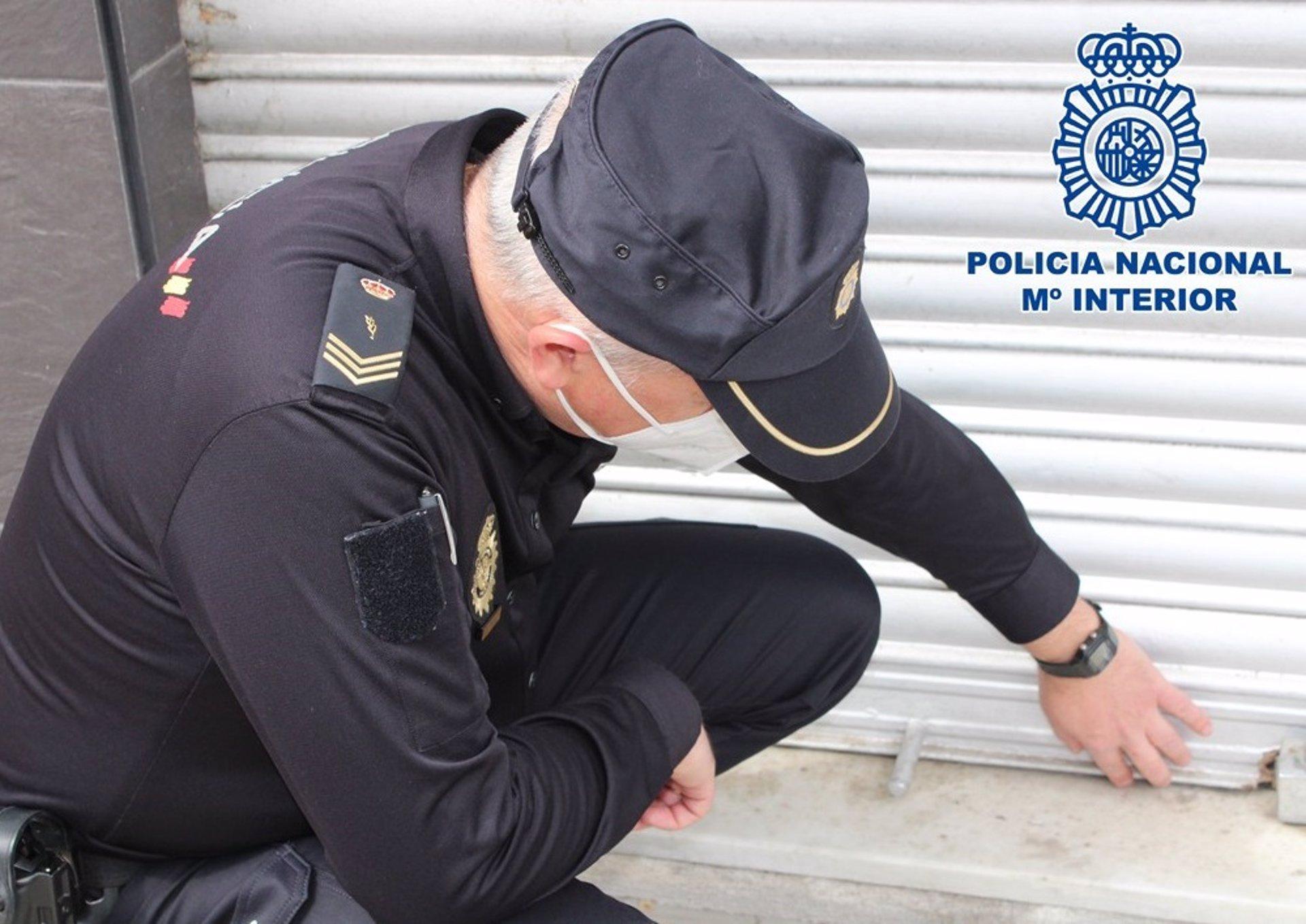 Detenido por cuarta vez este mes un ladrón especializado en robos con fuerza en trasteros