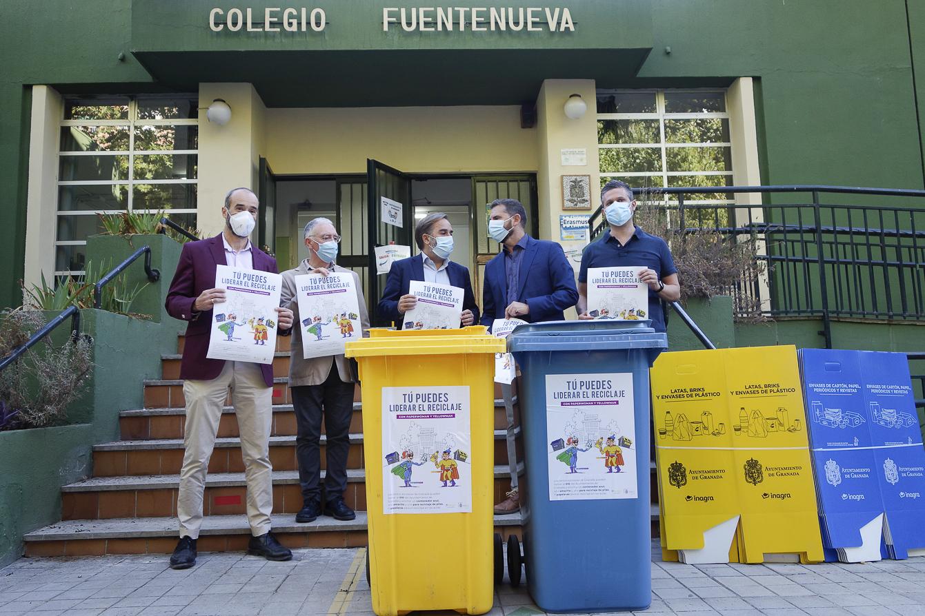 Campaña en los centros escolares para el fomento del reciclaje en las aulas