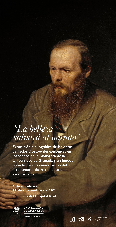 """Exposición bibliográfica """"La belleza salvará al mundo"""", sobre Fëdor Dostoévskijy"""