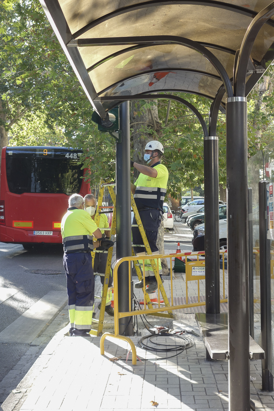 Todos los semáforos de la ciudad cuentan ya con tecnología led